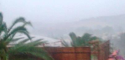 Las imágenes de la tormenta en mallorcadiario.com