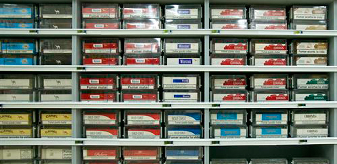 Las advertencias ocuparán el 65% del paquete de tabaco