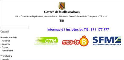 El TIB propone un número para incidencias que no existe