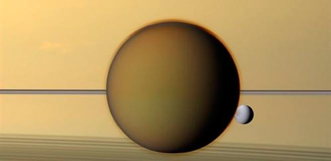 La NASA encuentra ingredientes del plástico en Titán