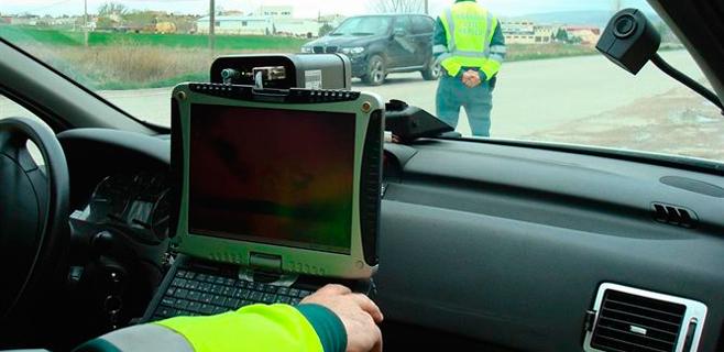 Tráfico extrema la vigilancia en carreteras secundarias
