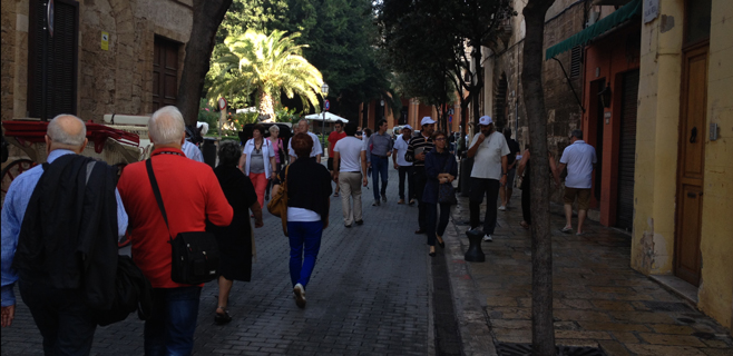 El gasto de los turistas extranjeros alcanza los 9.586 millones de euros