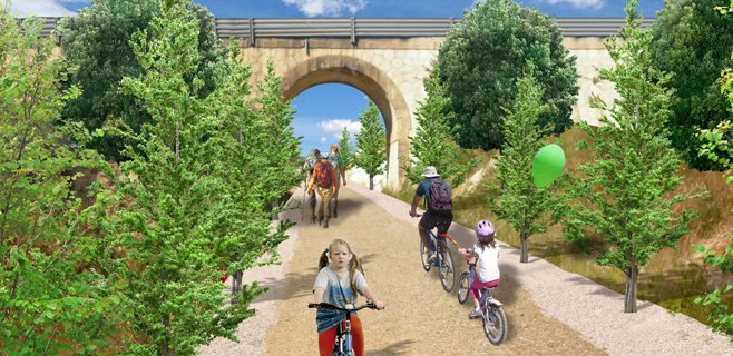 La vía verde Manacor-Artà estará finalizada antes del verano de 2014
