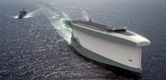 Ingenieros noruegos diseñan un buque que usa el casco como vela