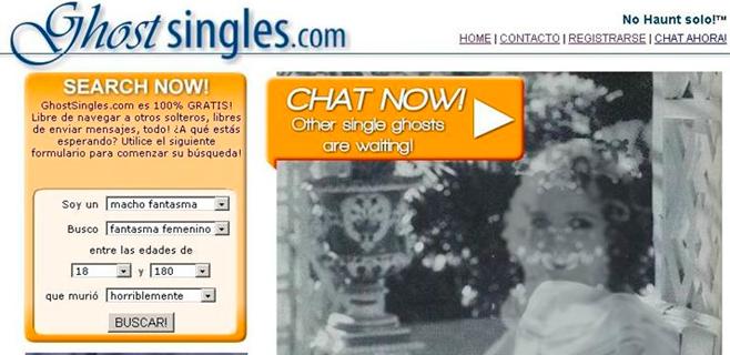 Nace una web de citas para fantasmas