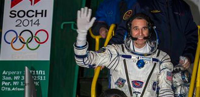 Rusia envía la antorcha olímpica a la Estación Espacial Internacional
