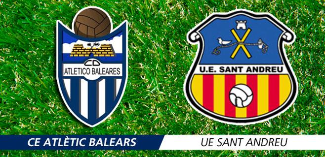 El Atlètic Balears recibe a un irregular Sant Andreu