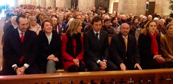Las autoridades cierran en la Seu y en Petra los actos del Año Juníper Serra