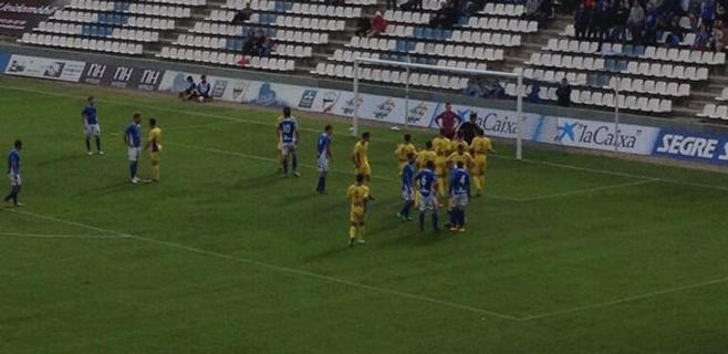 El Atlètic Balears se deja dos puntos en Lleida en el minuto 87