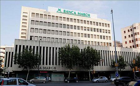 Banca March gana 52,9 millones en los nueve primeros meses del año