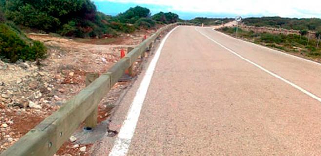 Ingresa grave un herido en accidente de tráfico en la carretera de Cap Blanc