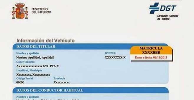 DGT apercibe por carta a 272.850 titulares de coches viejos en Balears