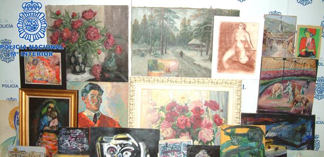 Hallados en Alemania 1.500 cuadros robados por los nazis