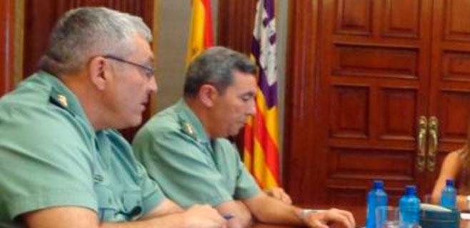 Jaume Barceló es el nuevo coronel jefe de la Guardia Civil