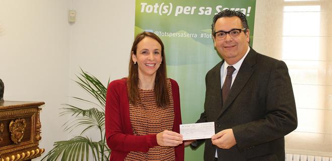 La SER entrega la recaudación de la gala Tot(s) per sa Serra