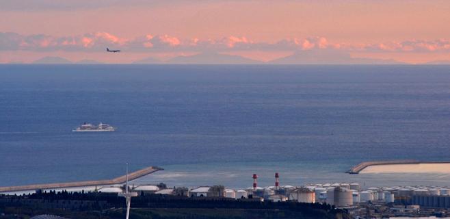 Mallorca se puede ver desde Barcelona