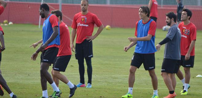 El Mallorca recupera a Pérez y Nunes para recibir al Lugo