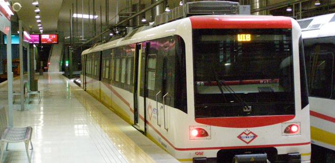 Agosto registró un descenso del 1,2% en los usuarios de metro en Palma