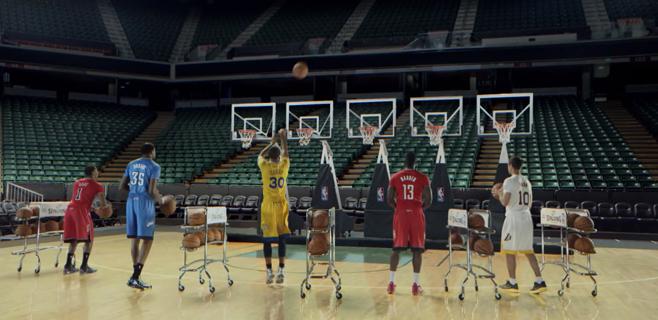 La NBA sorprende con un villancico de 3 puntos