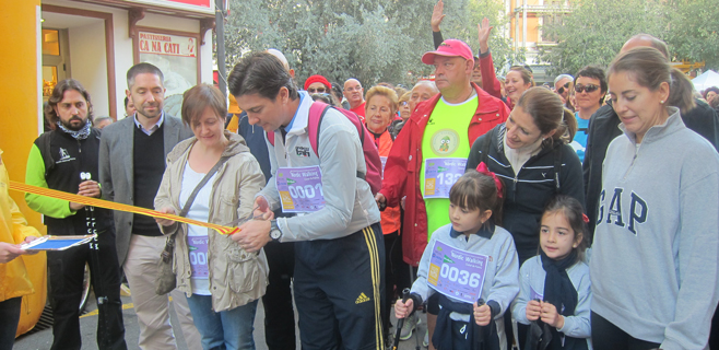 Más de 2.000 personas corren en Palma contra la violencia de género