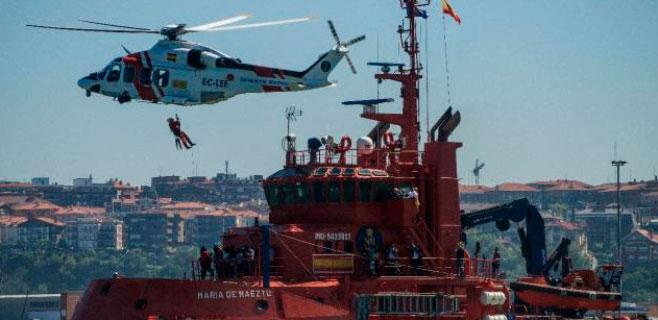 Rescatado el cadáver de un pasajero de un barco procedente de Palma