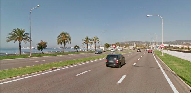 La velocidad del Passeig Marítim se reducirá a 60 km/h desde el jueves