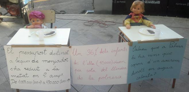 Prosocial se reafirma en su denuncia de la malnutrición infantil en Balears