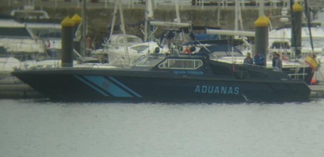 Espectacular control en el Port de Palma a los pasajeros de los cruceros