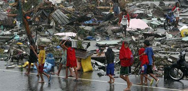 El Govern destina 80.000 € a Filipinas