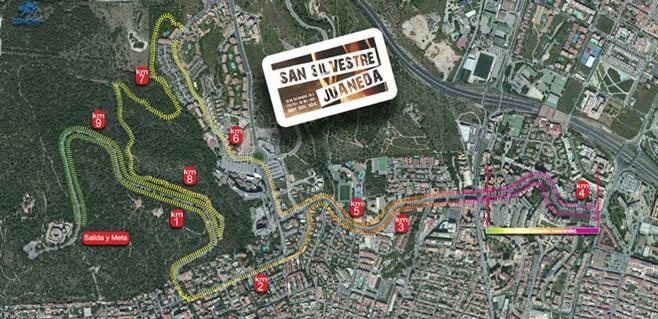 Juaneda organiza la I Carrera San Silvestre Ciutat de Palma