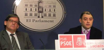 El PSIB denuncia que el Govern se plantea hacer contratos 'a medida'