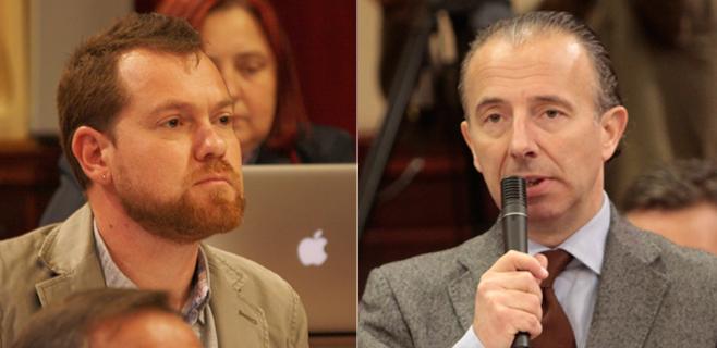 David Abril apela a la Corona de Aragón en su polémica con Delgado