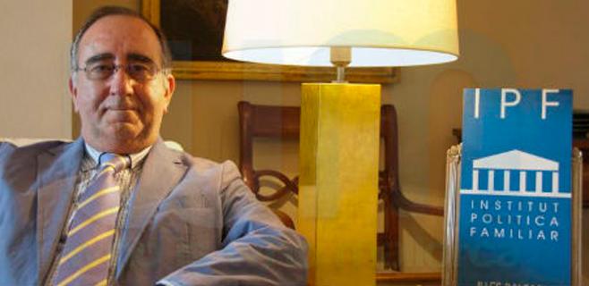 Agustí Buades, vicepresidente del Instituto de Política Familiar de España