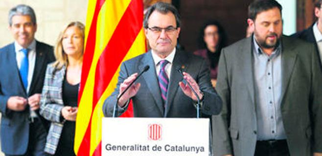 La mayoría de lectores es contraria a que Catalunya tenga un Estado propio