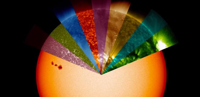 La NASA diseña un telescopio que permite ver los colores del Sol