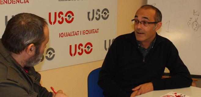 David Díaz, secretario confederal de USO España
