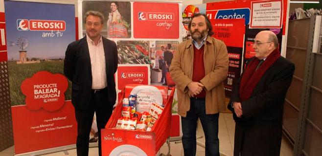 Eroski pone en marcha su campaña de recogida de alimentos
