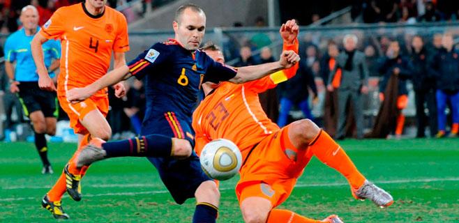 España debutará en Brasil 2014 contra Holanda