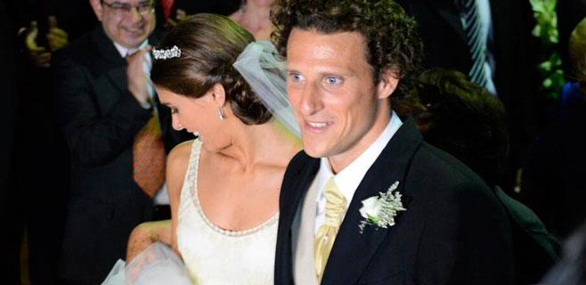 Código de barras para entrar en la boda de Diego Forlán