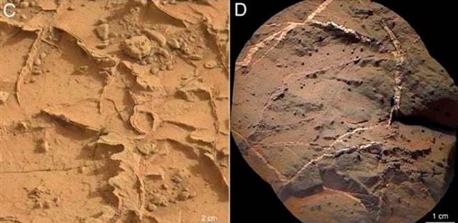 Evidencias de un antiguo lago en Marte