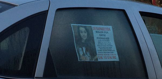 Aparecen indicios de que Malén Zoe Ortiz no desapareció voluntariamente