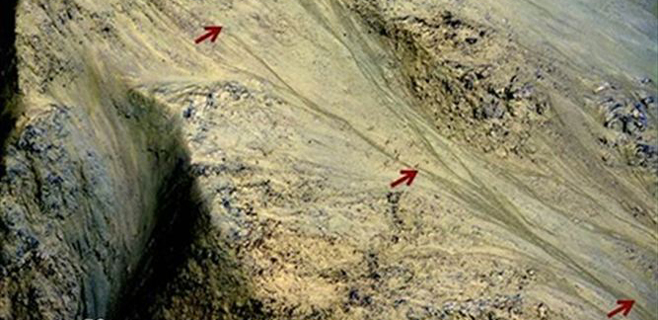 La sonda MARS detecta restos de agua salada en Marte