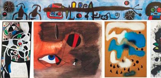 Christie's subastará 85 obras de Miró