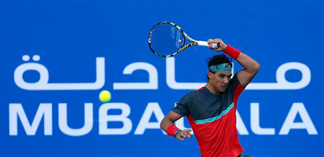 Nadal se despide de Abu Dhabi con victoria