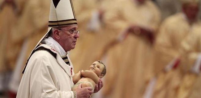 El Papa Francisco pide caminar