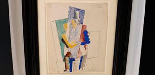 Condenado el electricista de Picasso por quedarse obras