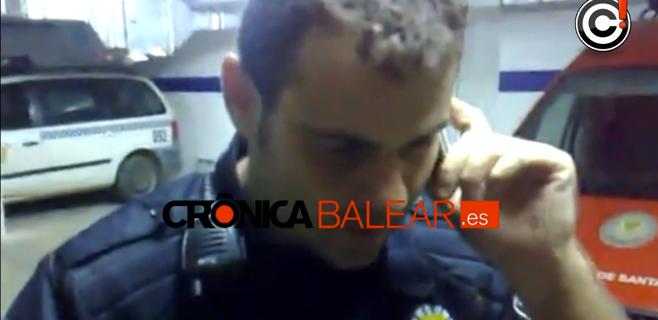 El policía local de Santa Eulària pide disculpas por el polémico vídeo