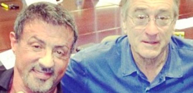 De Niro y Stallone, nominados como peor actor en los Razzies