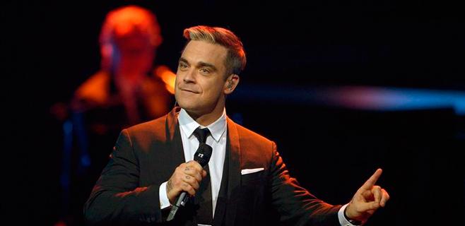 Robbie Williams fuma porros