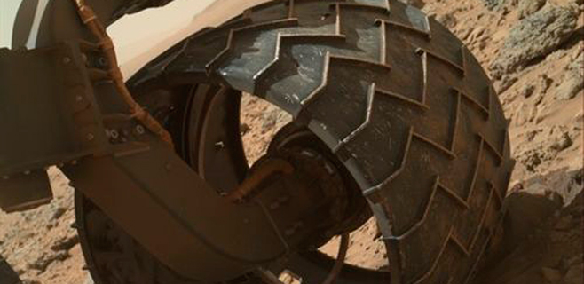Las ruedas del Curiosity pasarán la ITV